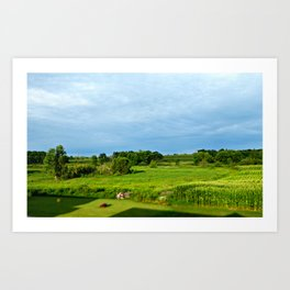 Mini View Art Print