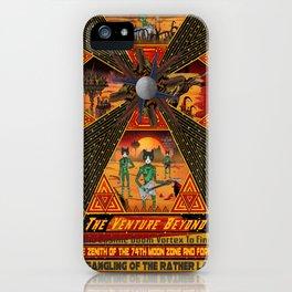 Cosmic Doom Vortex iPhone Case