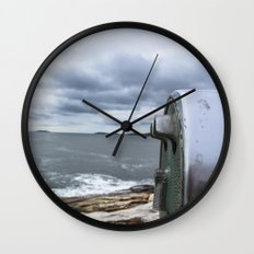 Ocean With a View Wall Clock