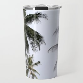 Tropical palm trees Travel Mug