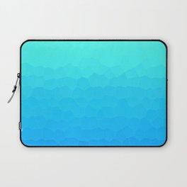 Turquoise and Blue Mosaic Laptop Sleeve