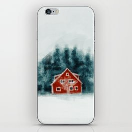 Red House iPhone Skin