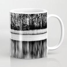 White Symphony of Winter Lake Mug