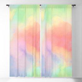 luminous tie dye Blackout Curtain