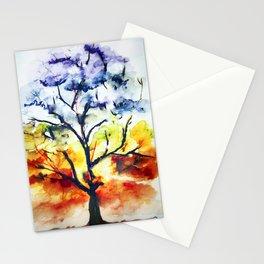 Chakra Tree of Life Stationery Cards