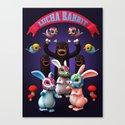 Lucha Rabbit by theodoru