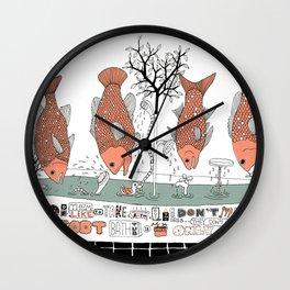 Bathtub Wall Clock