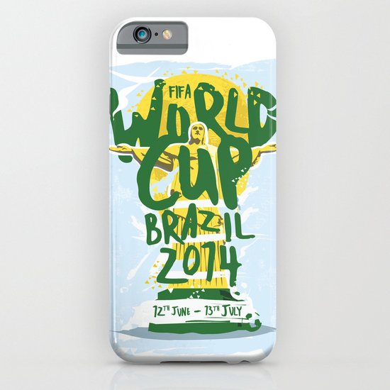 FIFA World Cup Brazil 2014 Print iPhone & iPod Case