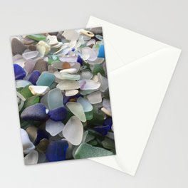 Sea Glass Assortment 5 Stationery Cards