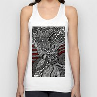 wave Tank Tops featuring Wave by Lauren Moore