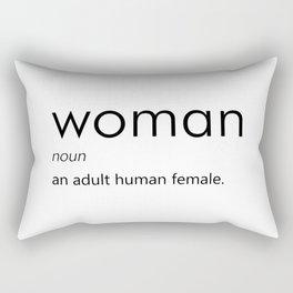 Woman (Definition) Rectangular Pillow