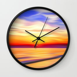 In the Bay Wall Clock