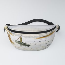 Duck Hunting - The Island Duck Blind Fanny Pack