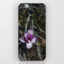 Floral Print 078 iPhone Skin
