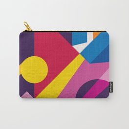 Abstract modern geometric background. Composition 6 Carry-All Pouch