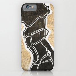 Golden Ties iPhone Case