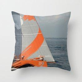 To Sea! (Team Alvimedica) Throw Pillow