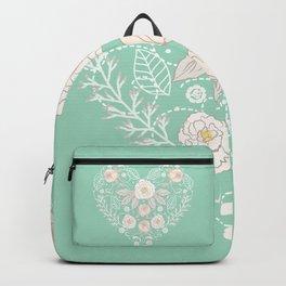 Nebula Pink Heart Backpack