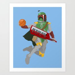 Nothing But Fett Art Print