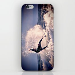 Surfing at the Bay. iPhone Skin
