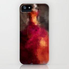 Fire dress iPhone Case