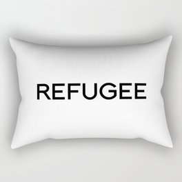 REFUGEE Rectangular Pillow