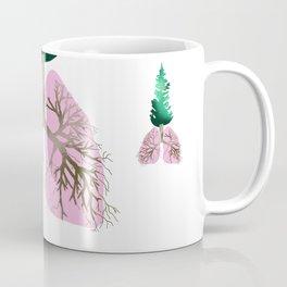 organic lungs Coffee Mug