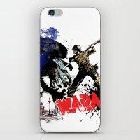 poland iPhone & iPod Skins featuring Poland Wara! by viva la revolucion