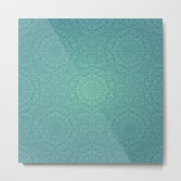 Alhambra Jade Metal Print