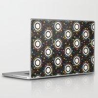 sewing Laptop & iPad Skins featuring sewing pins by kociara