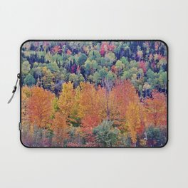 Paint By Nature - Fall Foliage Laptop Sleeve