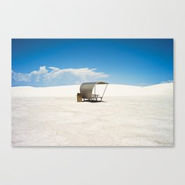 WHITE SANDS DESERT. Canvas Print