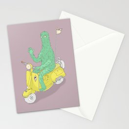 Vespa & Monsta Stationery Cards