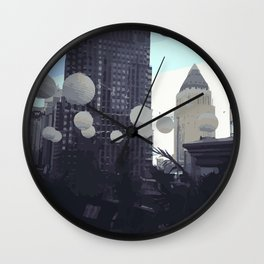 midtown rooftop Wall Clock
