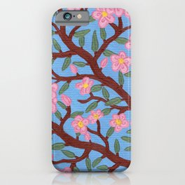 Large Cherry Tree 2a iPhone Case