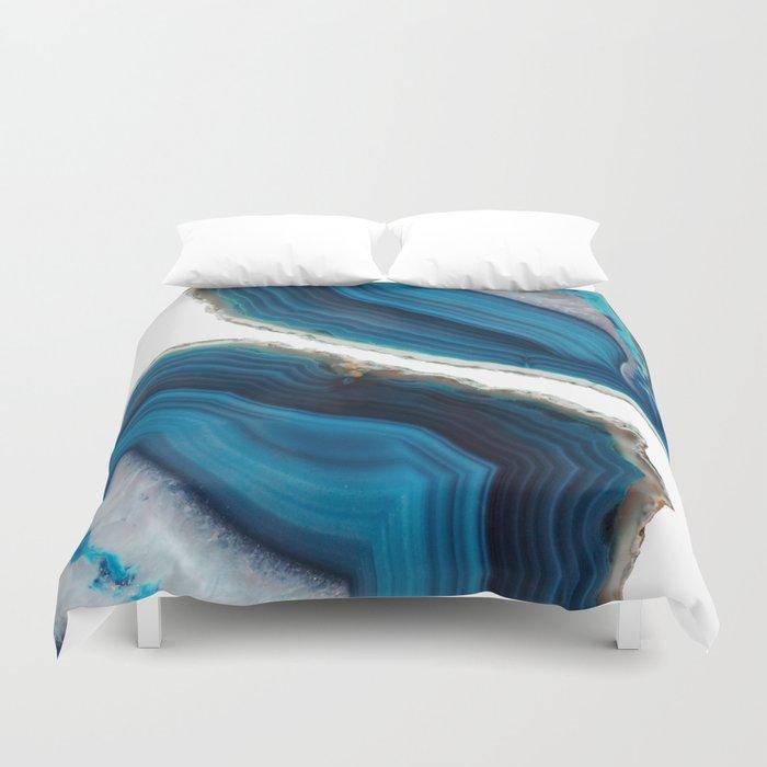 Blue Agate Bettbezug