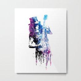 GUITAR GOD #s Metal Print