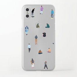 Boys Clear iPhone Case