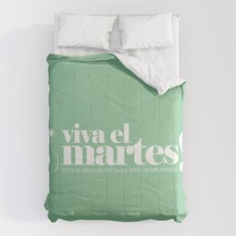 Viva el martes! Comforters