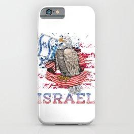 Eagle Bold Israel iPhone Case