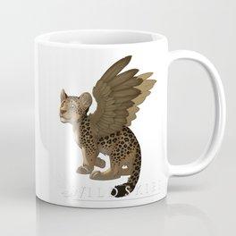 Wildskies cute cartoon leopard with wings Coffee Mug