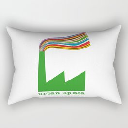 Urban Apnea Rainbow Rectangular Pillow