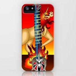 Fusion Keyblade Guitar #188 - Unicornis' Keyblade & Eternal Flame iPhone Case