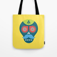 Mouscacho Skull 1 Tote Bag