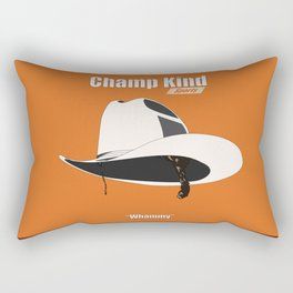 Champ Kind: Sports Rectangular Pillow