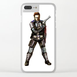 Murphy Clear iPhone Case