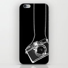 Noir Lomo Love iPhone & iPod Skin