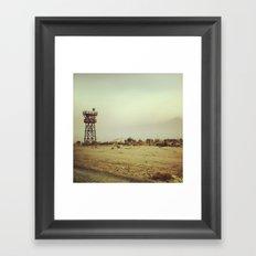 Manzanar Watchtower Framed Art Print