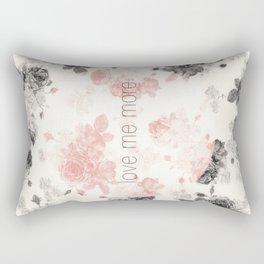 Love Me More Rectangular Pillow