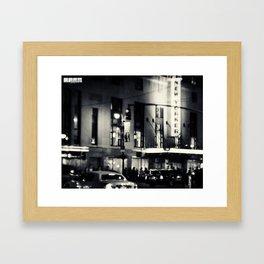 Hotel New Yorker Framed Art Print